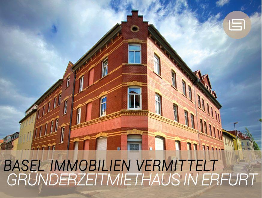 Basel Immobilien vermittelt Wohnhaus in Erfurt