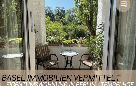 Basel Immobilien vermittelt Eigentumswohnung in Tempelhof