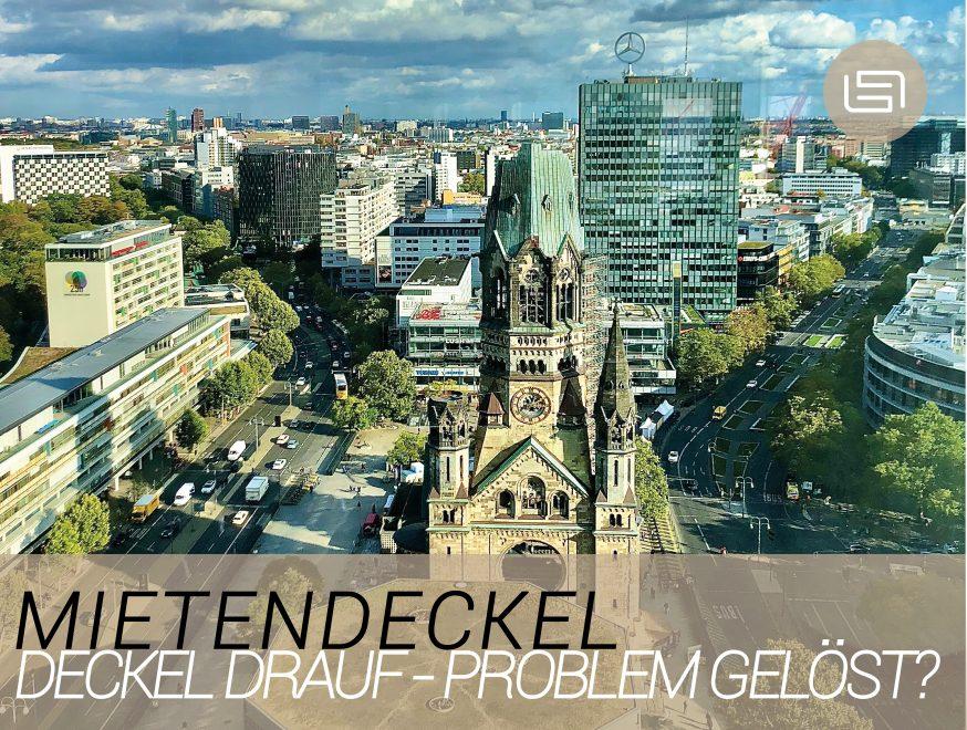Deckel drauf – Problem gelöst?