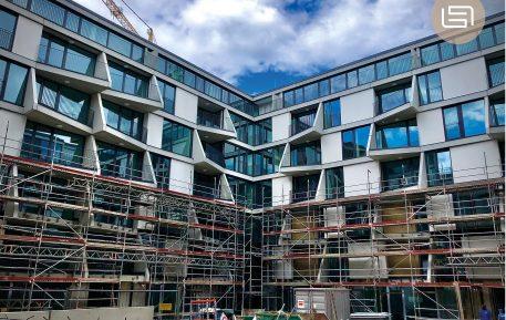 Der Aufwärtstrend von Baugenehmigungen