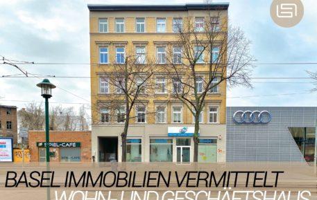 Basel Immobilien vermittelt Wohn- und Geschäftshaus in Halle (Saale)