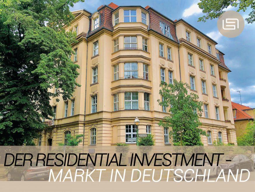 Der Residential Investment-Markt in Deutschland