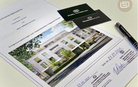 Basel Immobilien unterzeichnet einen exklusiven Vertriebsauftrag